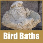 Stone Bird Baths
