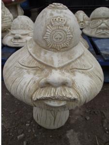 Stone Policeman PC Mushroom
