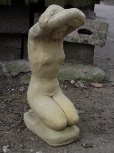 Classic Naked Woman Stone Statue - Aphrodite