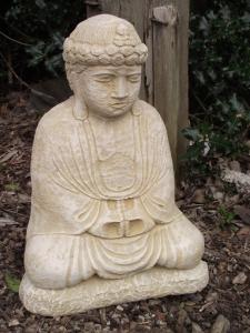 Traditional Stone Buddha Statue