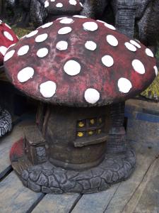 Huge Fairy Mushroom Cottage Garden Ornament