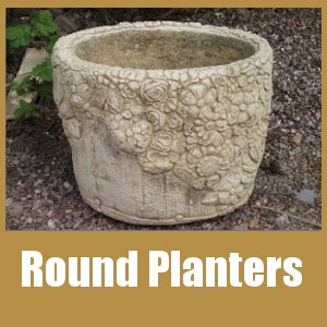 Round Planters