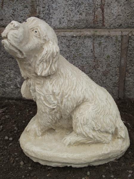 Stone Dog Statue Mans Best Friend