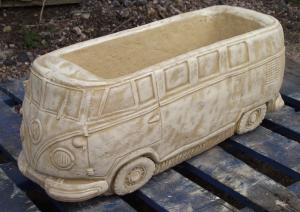 Stone VW Camper Van