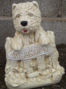 West Highland Terrier Welcome Plaque