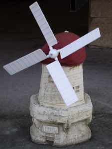 Cotswold Stone Windmill Garden Ornament