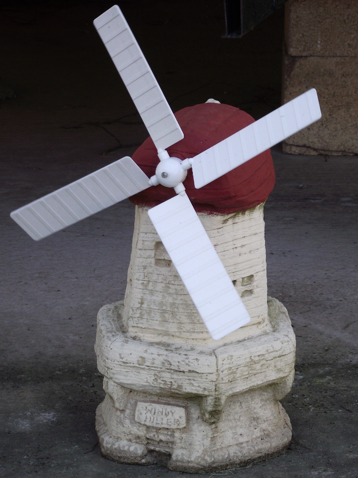 Cotswold Stone Windmill Garden Ornament